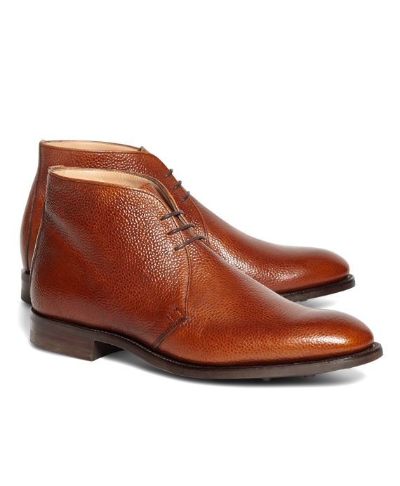 Peal & Co.® Cognac Pebble Chukkas Cognac