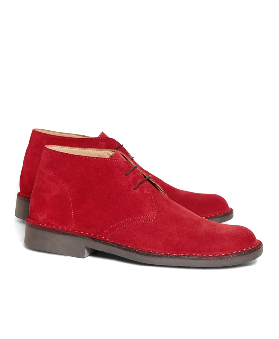 Field Chukka Boots Red
