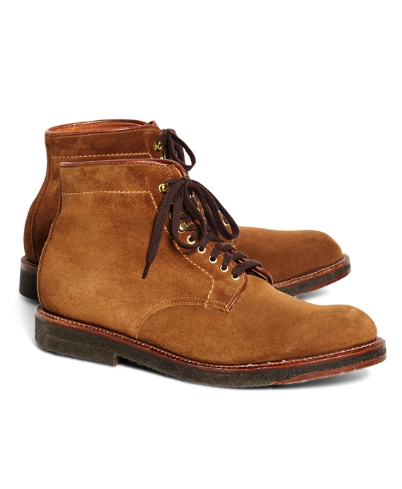 Suede Boots Tan