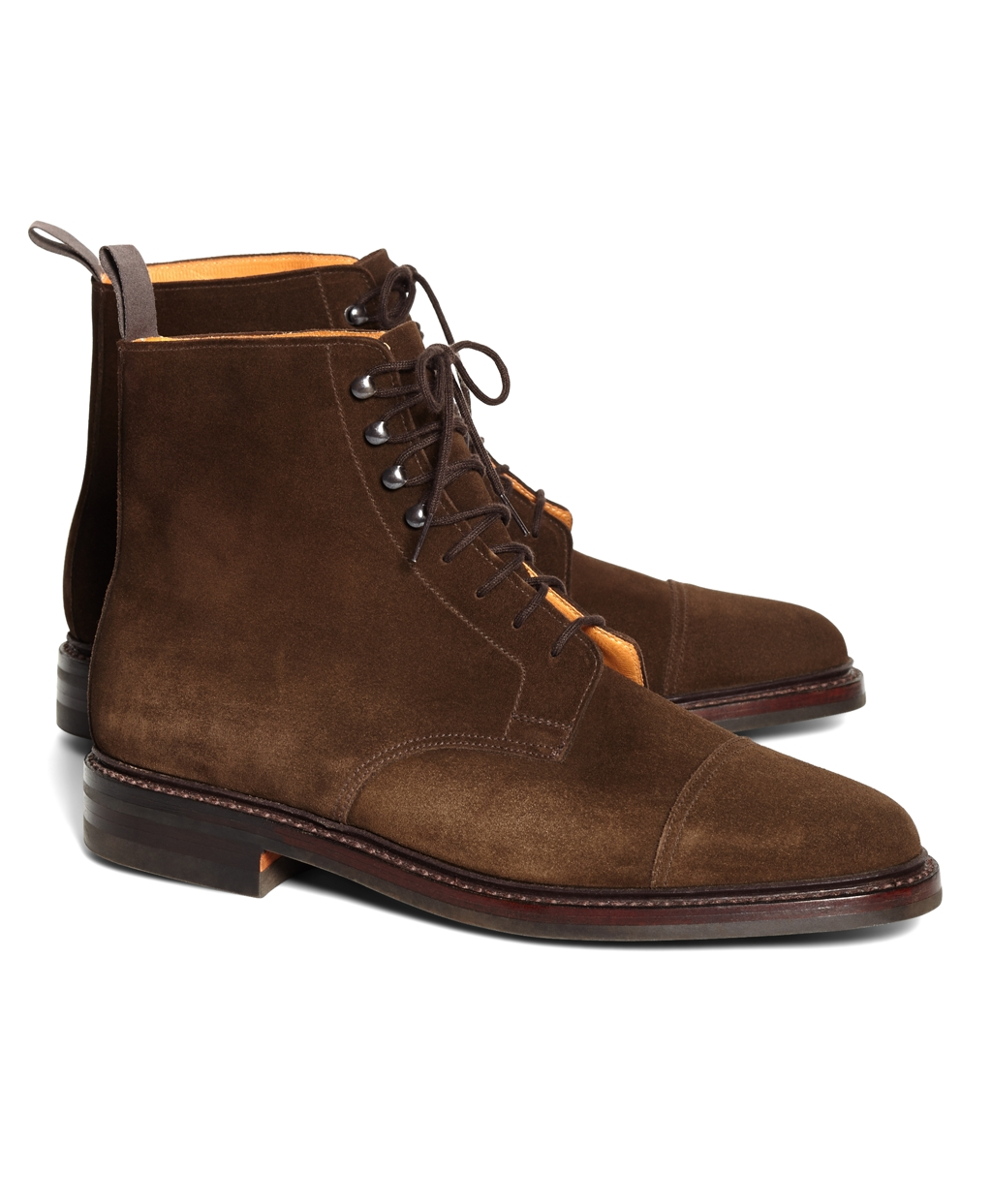 Brooks Brothers Men's Peal & Co. Derby Boots