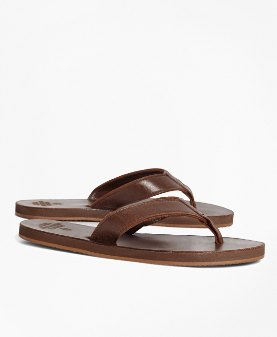 Men s Leather Flip-Flops  d5f2f2b27