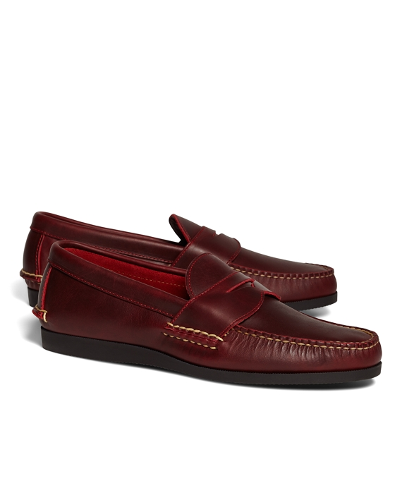 95f29bf7d43c40 Rancourt   Co Penny Loafers - Brooks Brothers