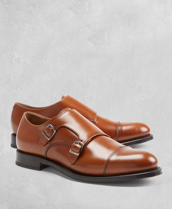 Golden Fleece® Double Monk Straps by Brooks Brothers