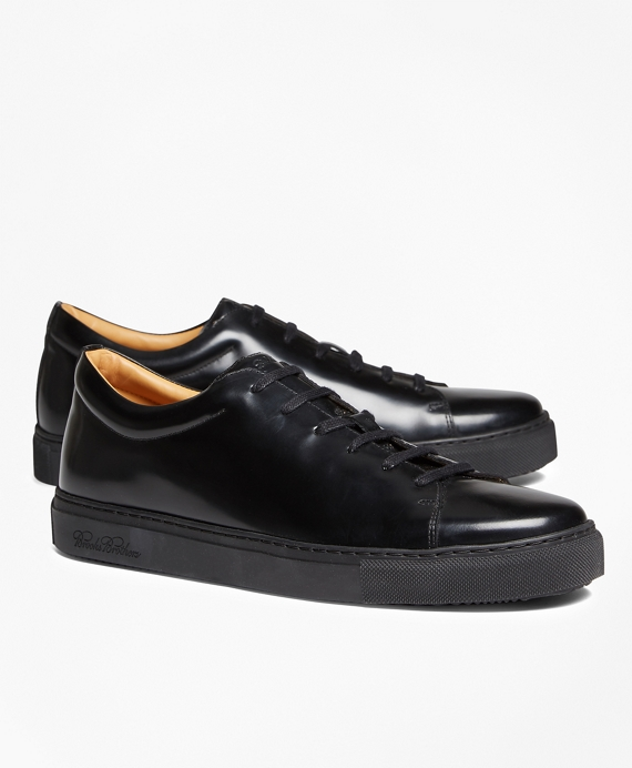 Leather Sneakers Black
