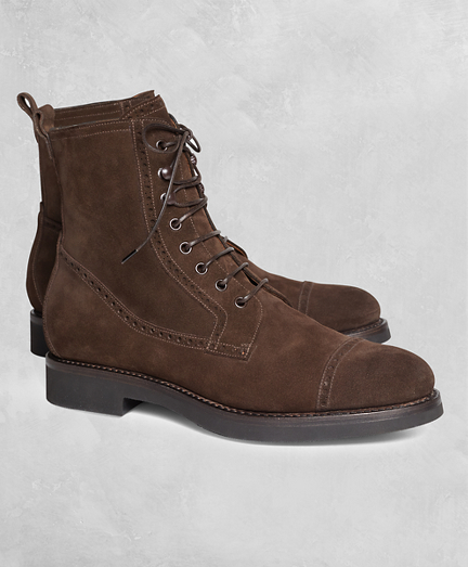 Golden Fleece® Suede Boots