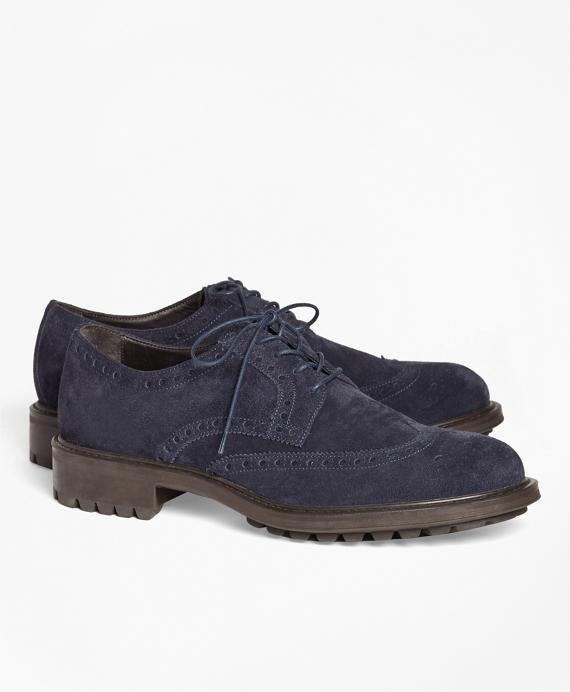1818 Footwear Wingtips Navy