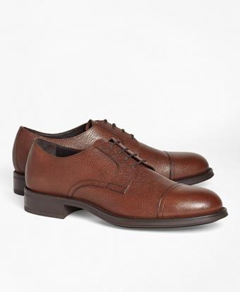 1818 Footwear Textured Leather Captoes