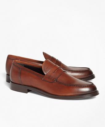 1818 Footwear Leather Penny Loafers