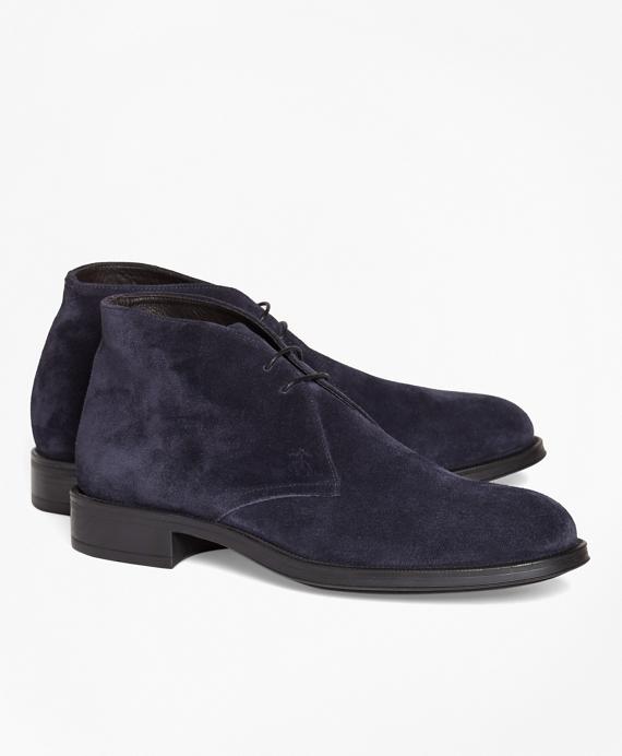 1818 Footwear Suede Chukka Boots Navy