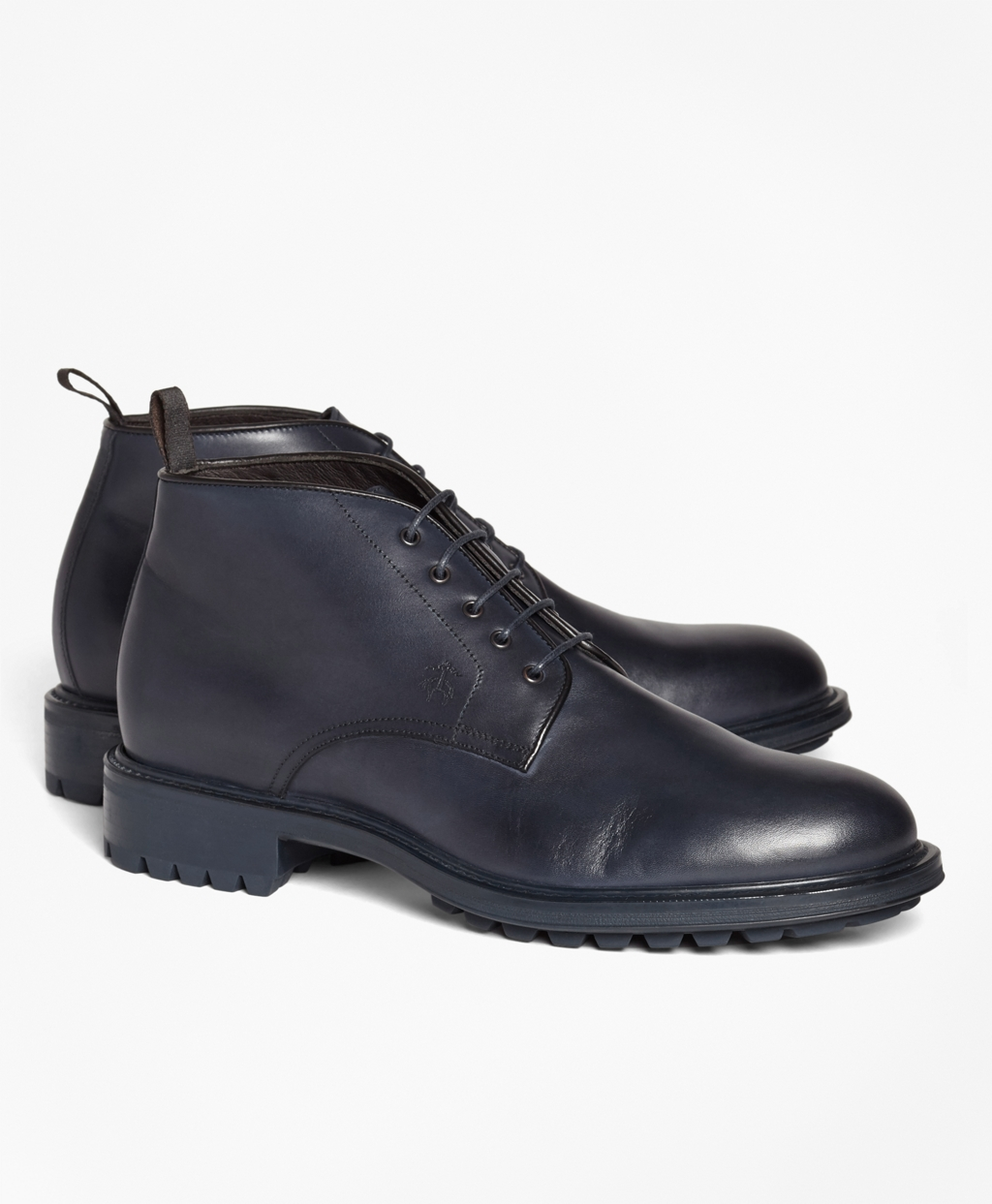 Men's 1818 Footwear Lug-Sole Leather Chukka Boots