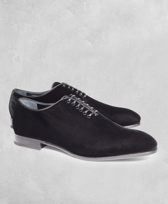 Golden Fleece® Velvet Formal Shoes Black