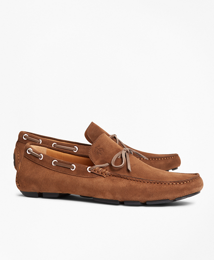 Suede Driving Moccasins