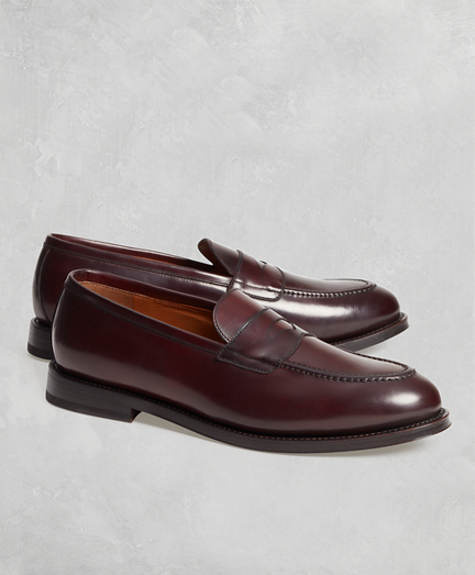 e268047ddbe Golden Fleece® Cordovan Penny Loafers. remembertooltipbutton
