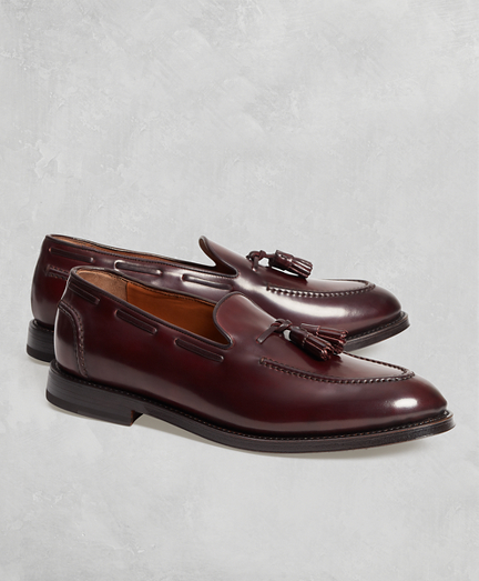 Golden Fleece® Cordovan Tassel Loafers