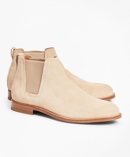 Brooksbrothers Suede Chelsea Boots
