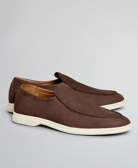 The Brooks Brothers Voyager 1 Shoe - Nubuck Brown