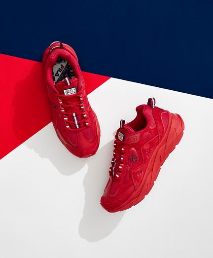 Brooks Brothers x FILA Trigate Sneakers