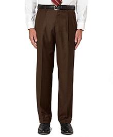 Golden Fleece® Saxxon Wool Pleat-Front Madison Fit Trousers