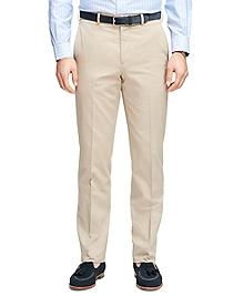 Regent Fit Own Make Tan Dress Trousers