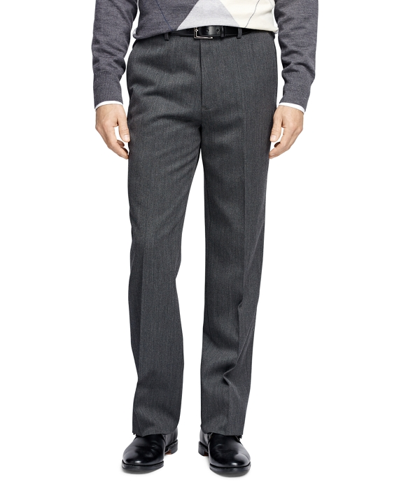 Madison Fit Whipcord Trousers Charcoal