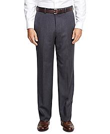 Madison Fit Mini Herringbone Trousers