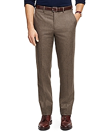 Own Make Wool Flannel Trousers