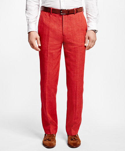 Fitzgerald Fit Linen Trousers