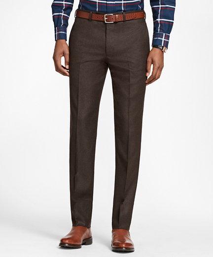 Milano Fit Stretch Flannel Trousers