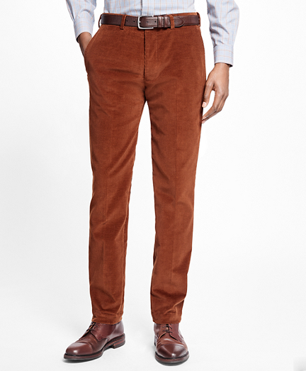 Milano Fit Stretch Corduroy Trousers