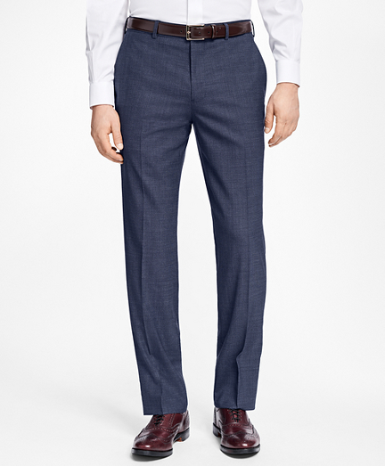 Regent Fit Basketweave Trousers