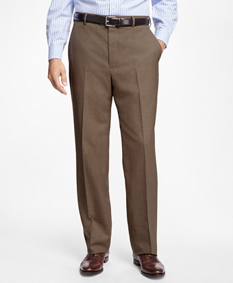 Regent Fit Saxxon™ Wool Trousers