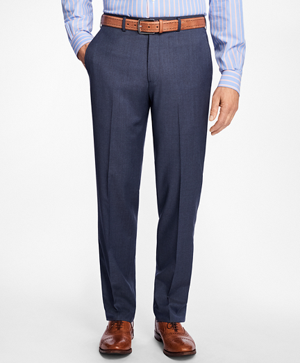 Madison Fit Mult-Check Dress Trousers