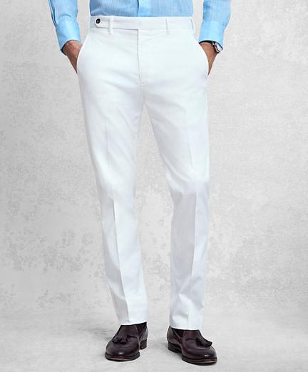 Golden Fleece® White Pique Chinos