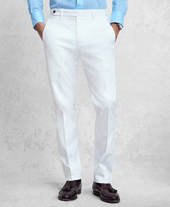 Golden Fleece® White Pique Chinos White