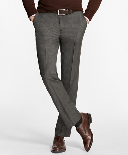 Regent Fit Houndscheck Trousers