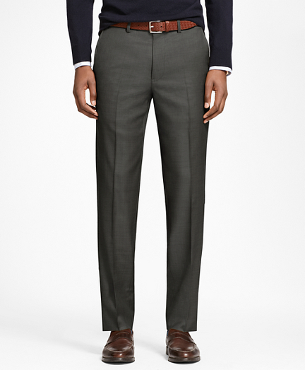 Milano Fit Stretch Wool Trousers