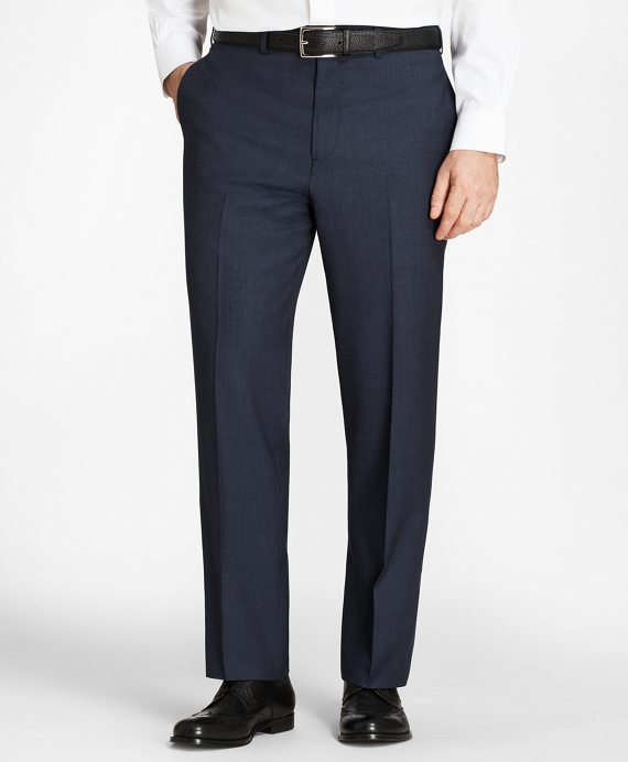 Madison Fit Check Trousers Blue