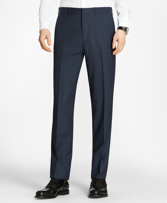 Milano Fit Check Trousers Blue