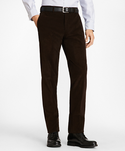 Regent Fit Fine Wale Stretch Corduroy Trousers