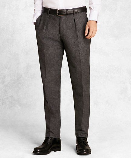Golden Fleece® Wool Flannel Trousers