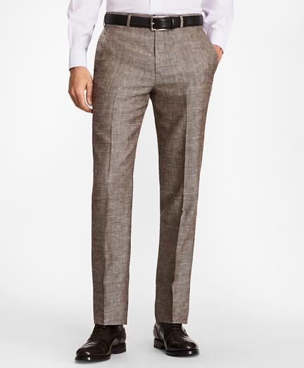 Regent Fit Wool Blend Trousers