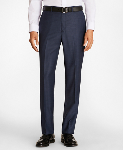 Regent Fit Wool Trousers