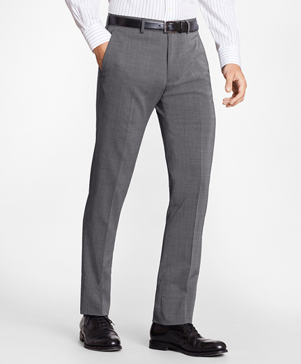 Regent Fit BrooksCool® Check Trousers