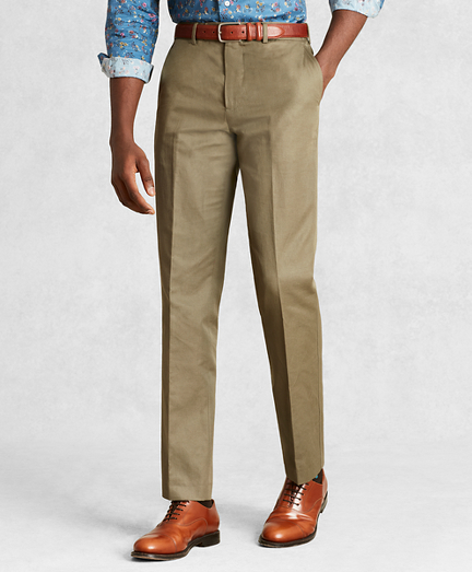 Golden Fleece® Cotton Linen Chino Trousers