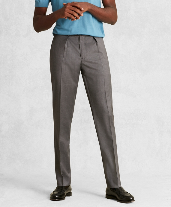 073fb6641 Golden Fleece® Wool Pleated Trousers - Brooks Brothers