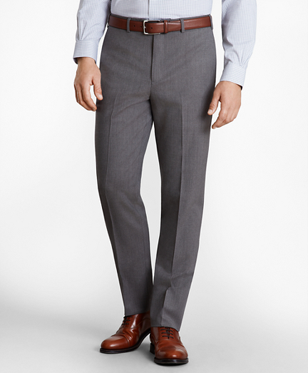Regent Fit Stretch Wool Trousers