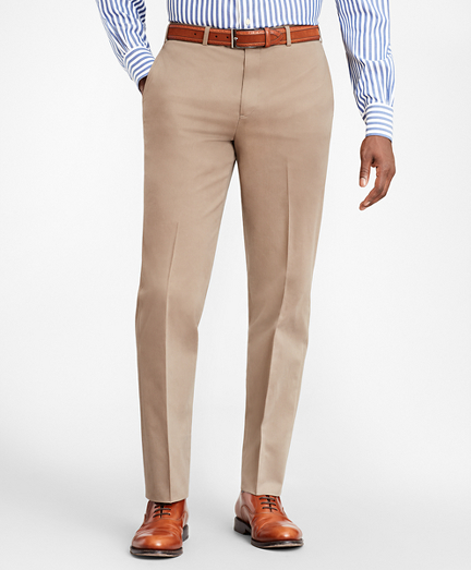 Regent Fit Supima® Cotton Trousers