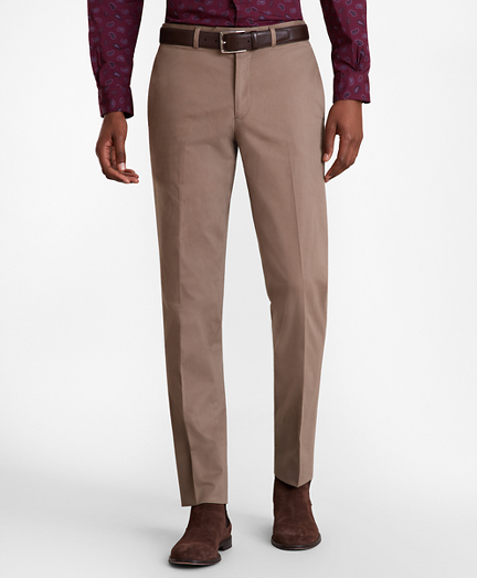 Milano Fit Stretch Supima® Cotton Trousers
