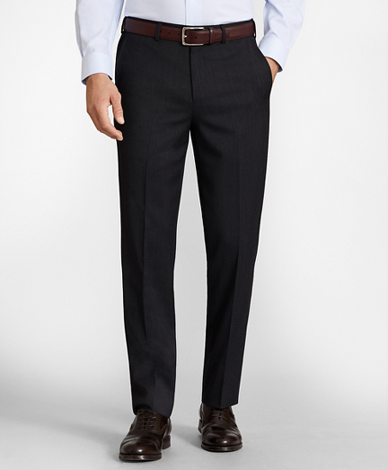 Regent Fit Whipcord Wool Trousers