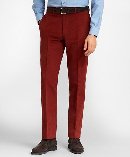 Regent Fit Herringbone Dress Trousers